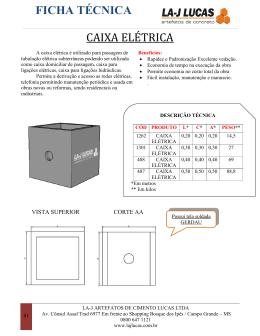 Baixar PDF - La-J Lucas Artefatos de Concreto