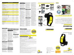 Manual de Instruções K 2.500