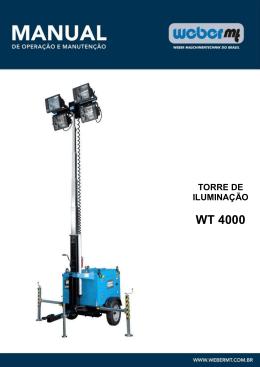 WT4000 - Weber MT