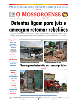 Capa O Mossoroense PC - 24-3.qxd - Fora do ar