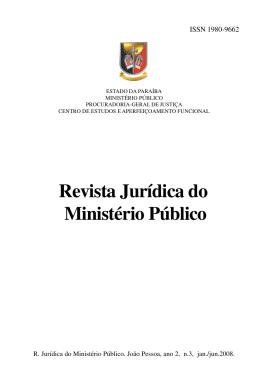 MIOLO POR ORDEM - Ministério Público da Paraíba