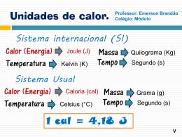 Caloria - Colégio Módulo