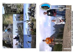 Setembro e Outubro - GEAN - Grupo Excursionista Agulhas Negras