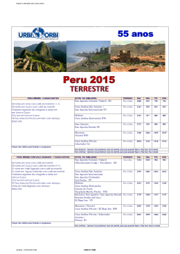 PERU COMPLETO 2015