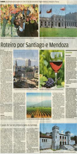 Roteiro por Santiago e Mendoza
