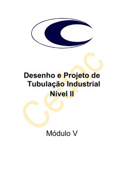 Desenho e Projeto de Tubulação Industrial Nível II