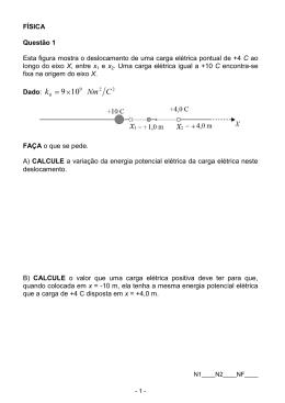 Física 4 Questões.