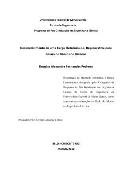Desenvolvimento de uma Carga Eletrônica c.c.