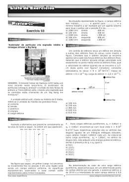 LE 3ºAno_Apostila 01 - Física II