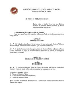 Servidores - Ministério Público do Estado do Rio de Janeiro