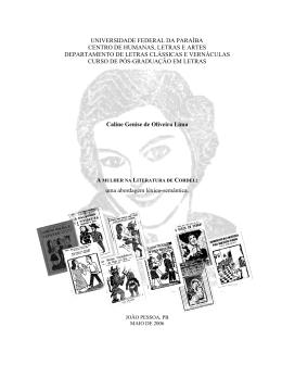 A Mulher na Literatura de Cordel - CCHLA