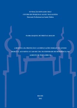 FLORA RAQUEL DE FREITAS ARAUJO