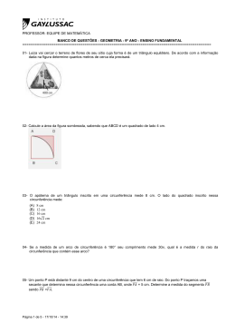 geometria - 9º ano - ensino fundamental