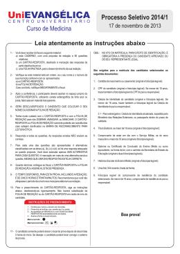 PROVA 2014-1 - MEDICINA 2.cdr
