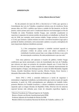 APRESENTAÇÃO Carlos Alberto Reis de Paula1 No dia