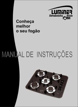 MANUAL DE INSTRUÇÕES MANUAL DE INSTRUÇÕES