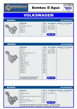UNIBOMBAS 2015.P65 - Thor Distribuidora de Auto Peças Ltda