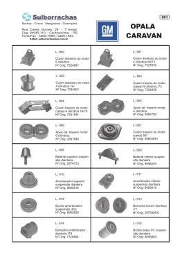 Catálogo Chevrolet