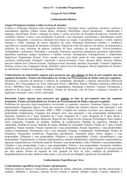 Anexo VI Conteúdos Programáticos retificado