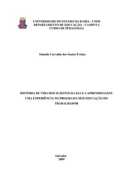 Iolanda Carvalho dos Santos Freitas