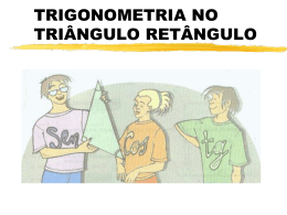 POWER POINT - TRIGONOMETRIA