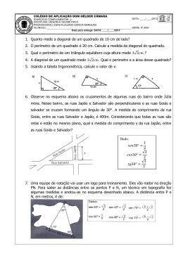 Desenho Geométrico II