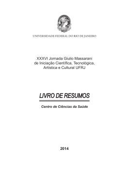 Livro CCS.indd - PR2-UFRJ