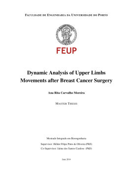 Dynamic Analysis of Upper Limbs Movements after