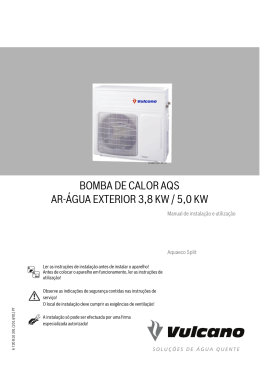 BOMBA DE CALOR AQS AR-ÁGUA EXTERIOR 3,8 KW / 5,0