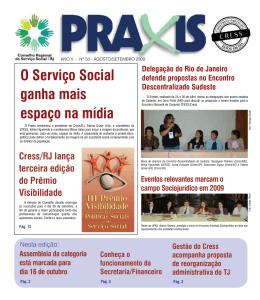 O Serviço Social ganha mais espaço na mídia - CRESS-RJ