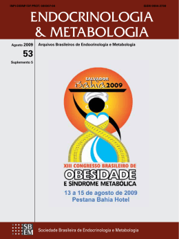 PDF - 5.6 MB - Archives of Endocrinology and Metabolism