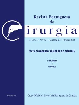 Revista Portuguesa de - Sociedade Portuguesa de Cirurgia