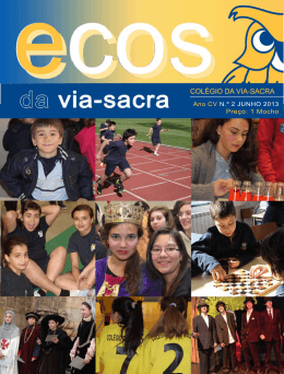 índice editorial - Colégio da Via