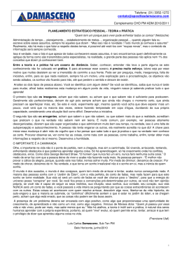 Complemento CHO 2010-2011 - Damasceno
