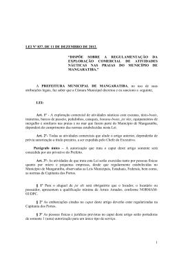 P A R E C E R - Prefeitura de Mangaratiba