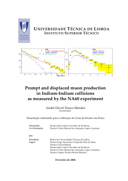 Prompt and displaced muon production in Indium-Indium