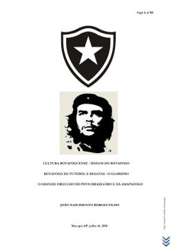 Cultura Botafoguense - Ídolos do Botafogo & da Seleção Brasileira