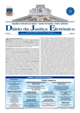 31/01/13 - Tribunal de Justiça da Paraíba