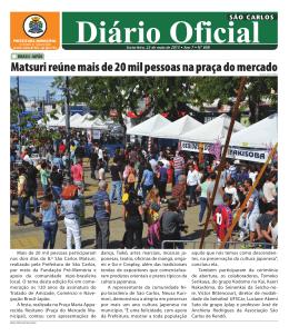 Diário Oficial - São Carlos