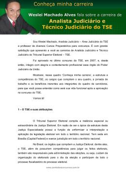 Analista Judiciário e Técnico Judiciário