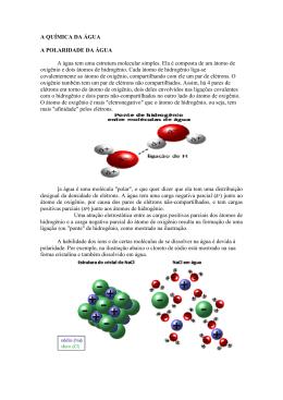 AGH_Aula01_Quimica e Ciclo da Agua