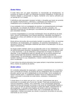 Índice de Analises - Laboratório de Análises Clínicas Dr. Luís Marinho