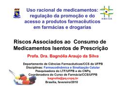 Riscos Associados ao Consumo de Medicamentos Isentos