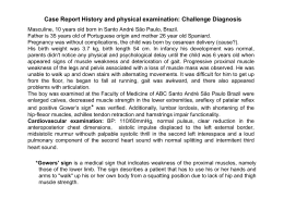 Case Report History and physical examination