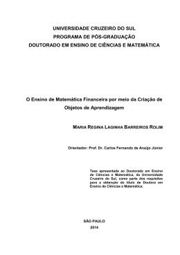 Artigo Completo - Universidade Cruzeiro do Sul