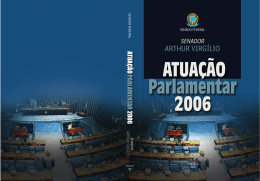 ARTHUR VIRGÍLIO - Biblioteca Digital do Senado Federal