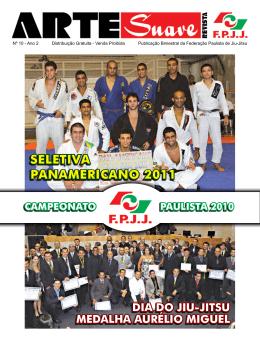 SELETIvA PANAMErICANO 2011 - Federação Paulista de Jiu