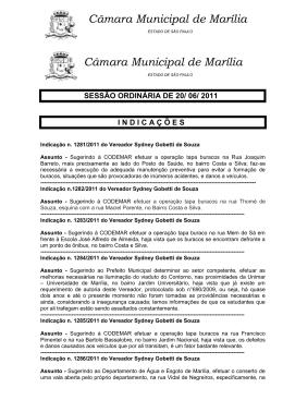 Câmara Municipal de Marília