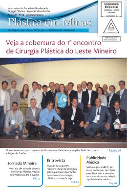 Veja a cobertura do 1º encontro de Cirurgia Plástica do - SBCP-MG