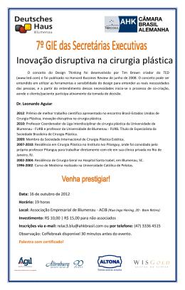 Inovação disruptiva na cirurgia plástica